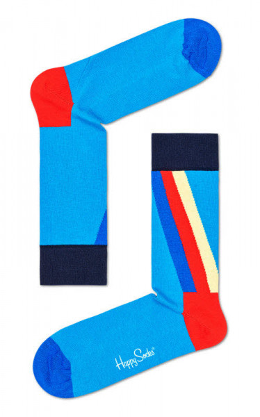 "Happy Socks ""Retro Stripe Sock"""