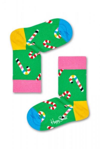 "Happy Socks ""Kids Candy Cane Sock"""