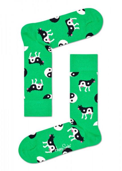Happy Socks Ying Yang Cow Sock