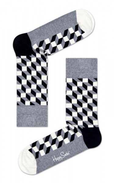 "Happy Socks ""Filled Optic Sock"""