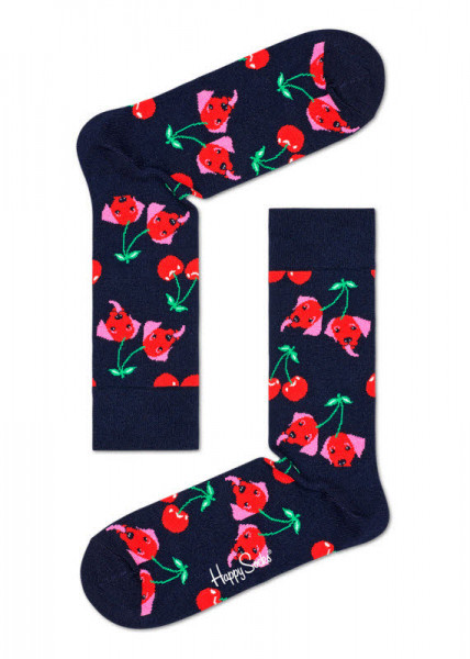 Happy Socks Cherry Dog Sock