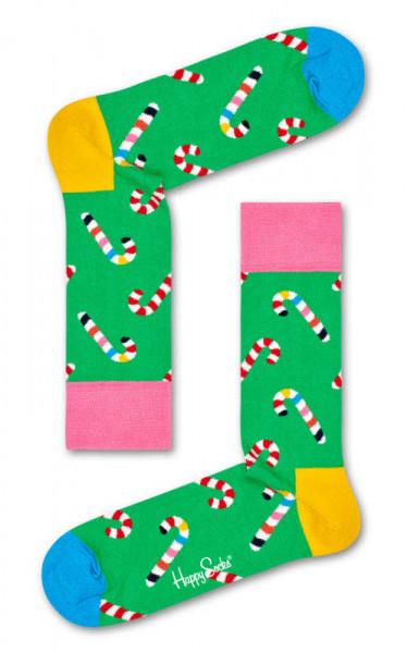 "Happy Socks ""Candy Cane Sock"""