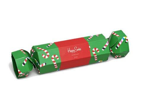 Happy Socks Christmas Cracker Candy Cane Gift Box - Bild 1