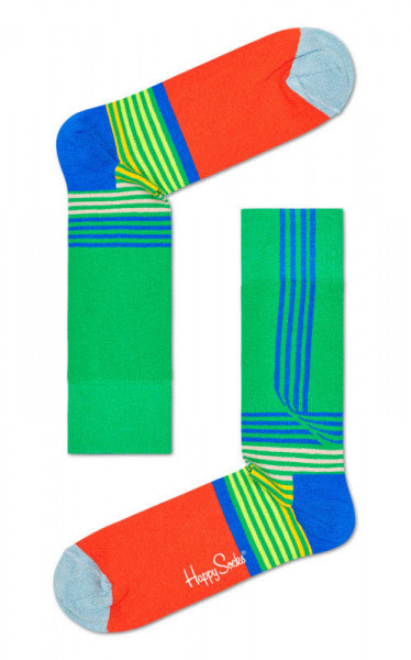 "Happy Socks ""Folded Stripe Sock"""