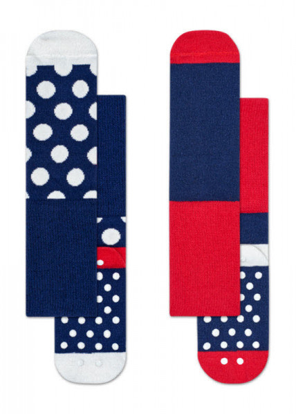 Happy Socks 2-pack Kids Big Dot