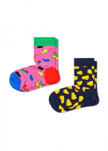 Happy Socks 2-pack Kids Mouse Socks