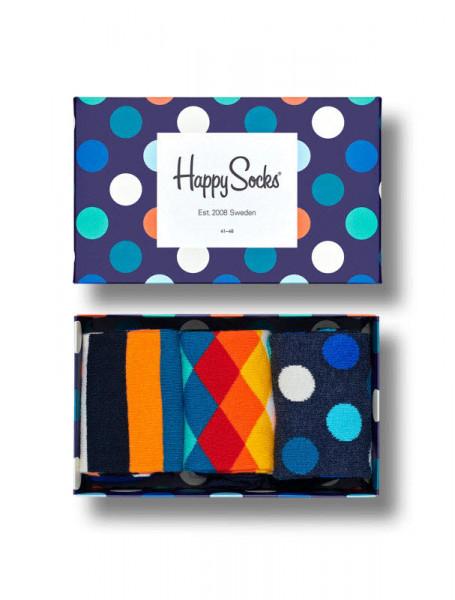 "Happy Socks ""3-Pack Classic Multi-Color Socks Gift Set"" - Bild 1"