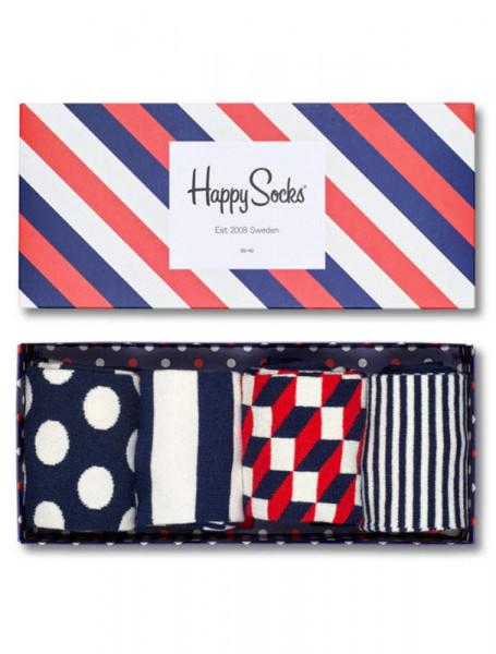 "Happy Socks ""4-Pack Classic Navy"" - Bild 1"