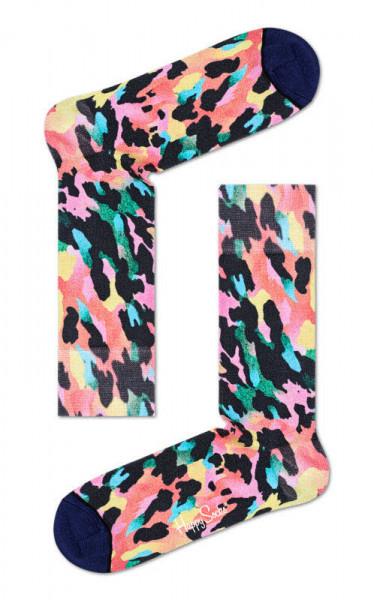 """Happy Socks """"Gradient Leopard Printed Sock"""""""