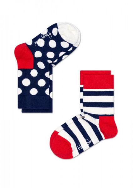 Happy Socks 2-pack Kids Stripe Sock