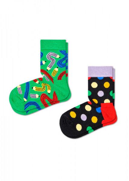 Happy Socks 2-pack Kids Pen Sock