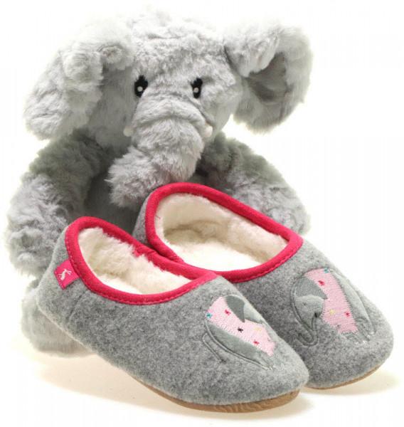 """Joules Hausschuhe """"Gift Set Elephant"""""""
